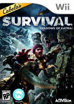 Jaquette de Cabela's Survival : Shadows of Katmai Wii