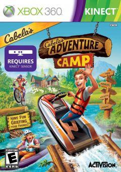 Jaquette de Cabela's Adventure Camp Xbox 360