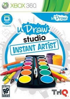 Jaquette de uDraw Studio : Dessiner Facilement Xbox 360
