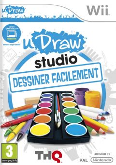 Jaquette de uDraw Studio : Dessiner Facilement Wii