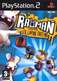 Jaquette de Rayman contre les Lapins Crétins PlayStation 2