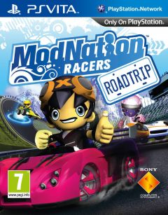 Jaquette de ModNation Racers : Road Trip PS Vita