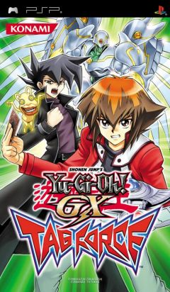 Jaquette de Yu-Gi-Oh ! GX Tag Force PSP