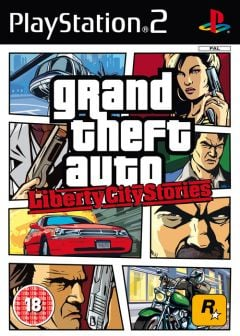 Jaquette de Grand Theft Auto : Liberty City Stories PlayStation 2