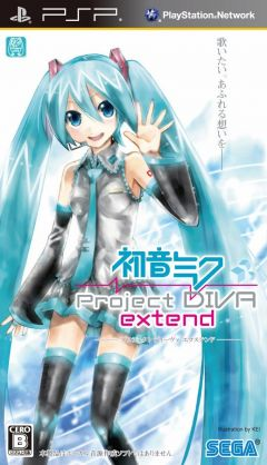 Jaquette de Hastune Miku : Project Diva Extend PSP
