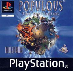 Jaquette de Populous : A l'Aube de la Création PlayStation