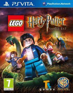 Jaquette de LEGO Harry Potter Années 5 à 7 PS Vita