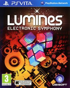 Jaquette de Lumines Electronic Symphony PS Vita