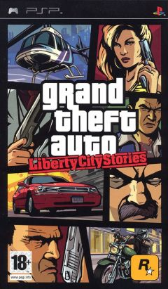 Jaquette de Grand Theft Auto : Liberty City Stories PSP