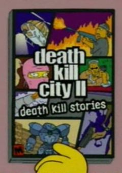 Jaquette de Death Kill City II : Death Kill Stories Arcade