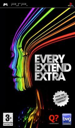 Jaquette de Every Extend Extra PSP