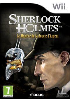 Jaquette de Sherlock Holmes : Le Mystère de la Boucle d'Argent Wii
