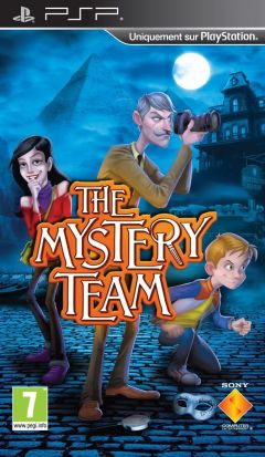Jaquette de The Mystery Team PSP
