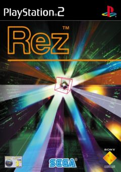Jaquette de Rez PlayStation 2