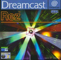 Jaquette de Rez Dreamcast