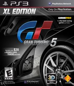 Jaquette de Gran Turismo 5 XL Edition PlayStation 3