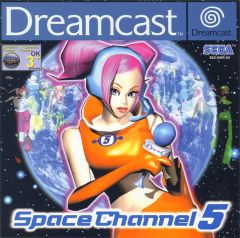 Jaquette de Space Channel 5 Dreamcast