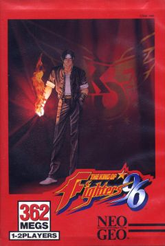 Jaquette de The King of Fighters '96 NeoGeo