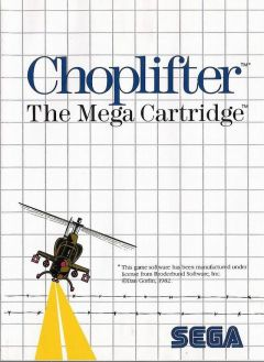 Jaquette de Choplifter Master System