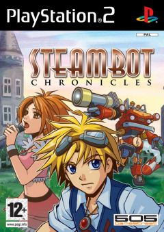 Jaquette de Steambot Chronicles PlayStation 2