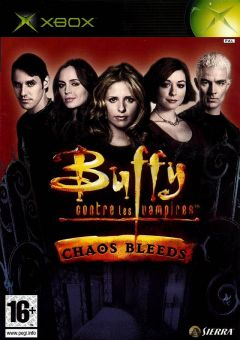 Jaquette de Buffy contre les Vampires : Chaos Bleeds Xbox