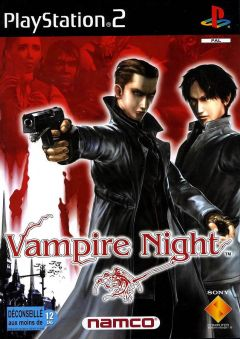 Jaquette de Vampire Night PlayStation 2
