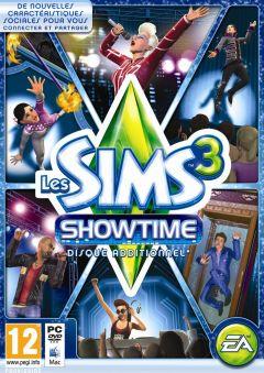 Jaquette de Les Sims 3 : Showtime Mac