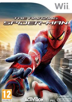 Jaquette de The Amazing Spider-Man Wii