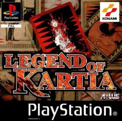 Jaquette de Legend Of Kartia PlayStation