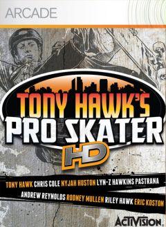Jaquette de Tony Hawk's Pro Skater HD Xbox 360