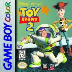 Jaquette de Toy Story 2 Game Boy Color