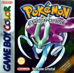 Jaquette de Pokémon Version Cristal Game Boy Color