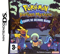 Jaquette de Pokémon Donjon Mystère : Equipe de Secours Bleue DS