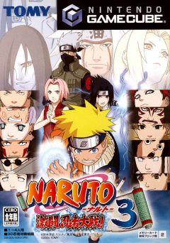 Jaquette de Naruto : Gekitou Ninja Taisen ! 3 GameCube