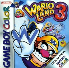 Jaquette de Wario Land 3 Game Boy Color