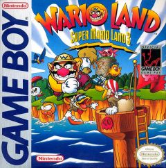 Jaquette de Super Mario Land 3 : Wario Land Game Boy