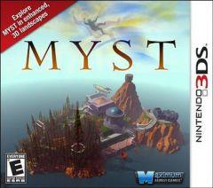 Jaquette de Myst Nintendo 3DS