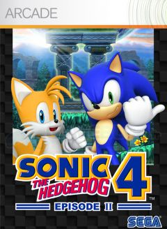 Jaquette de Sonic the Hedgehog 4 Episode II Xbox 360