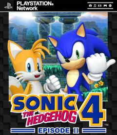 Jaquette de Sonic the Hedgehog 4 Episode II PlayStation 3