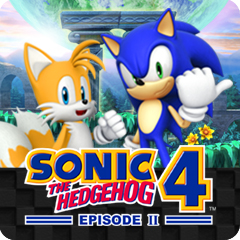 Jaquette de Sonic the Hedgehog 4 Episode II Windows Mobile