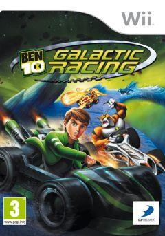 Jaquette de Ben 10 : Galactic Racing Wii