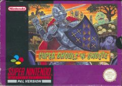 Jaquette de Super Ghouls and Ghosts Super NES