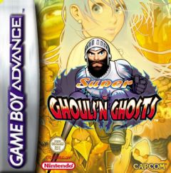 Jaquette de Super Ghouls and Ghosts Game Boy Advance