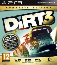 Jaquette de DiRT 3 : Complete Editon PlayStation 3