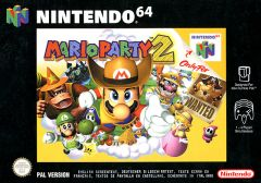 Jaquette de Mario Party 2 Nintendo 64