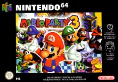 Jaquette de Mario Party 3 Nintendo 64