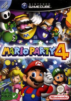 Jaquette de Mario Party 4 GameCube