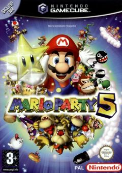 Jaquette de Mario Party 5 GameCube