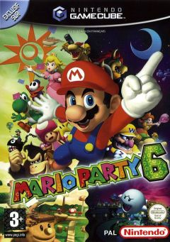 Jaquette de Mario Party 6 GameCube
