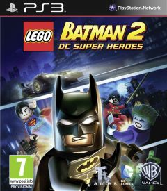 Jaquette de LEGO Batman 2 : DC Super Heroes PlayStation 3